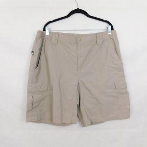 North Face Tan Cargo Shorts Mens XL